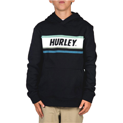 Hurley Sporty Stripe Hoody - Black