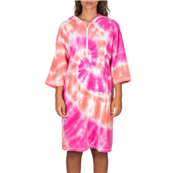 Hurley Hello Kitty Changing Robe - Tie Dye