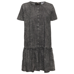 Noisy May Emilia Dress - Medium Grey