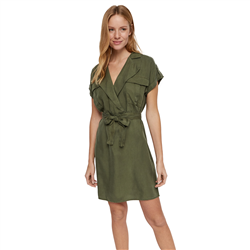 Noisy May Vera Dress - Olive Night