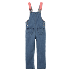 Joules Courtney Dungarees - Denim