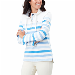 Joules Saunton Sweatshirt - Cream Stripe