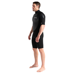 C-Skins Element 3/2mm Shorty Back Zip Wetsuit (2021) - Black