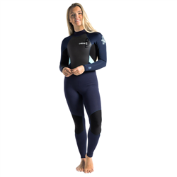 C-Skins Element 3/2mm Back Zip Wetsuit (2021) - Slate, Black & Ice Blue