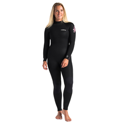 C-Skins Surflite 3/2mm Back Zip Wetsuit (2021) - Black, Heather Rose & Rose Shade