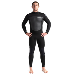 C-Skins Legend 4/3mm Back Zip Wetsuit (2021) - Black & Grey