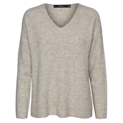 Vero Moda Crewlefile Jumper - Birch