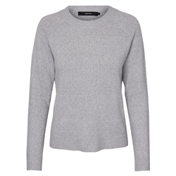 Vero Moda Doffy Jumper - Light Grey Melange