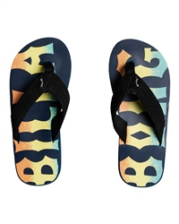 Billabong All Day Theme Flip Flops - Multi