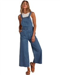 Billabong Paint By Numbers Jumpsuit - Costa Blue