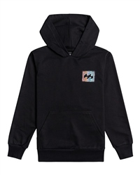 Billabong Boys Crayon Wave Hoody - Black