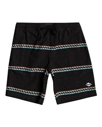 Billabong Larry Jacquard Walkshorts - Black