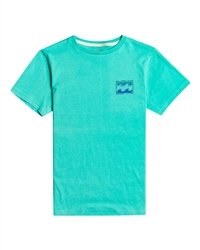 Billabong Unity Paint T-Shirt - Light Aqua