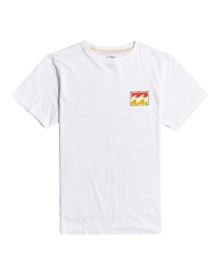 Billabong Unity Paint T-Shirt - White
