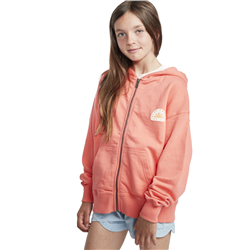 Billabong Bright Light Zip Hoody - Sunkissed Coral