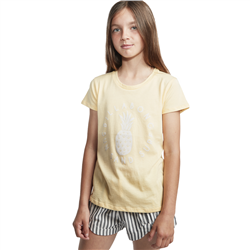 Billabong Sand And Surf T-Shirt - Canary Yellow
