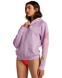 Billabong Catching Waves Hoody - Lit Up Lilac