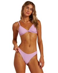 Billabong Tanlines Hike Bikini Bottoms - Lit Up Lilac