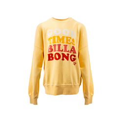 Billabong So Much Love Sweatshirt - Canary Yellow