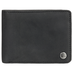 Quiksilver Mack 2 Leather Wallet - Black