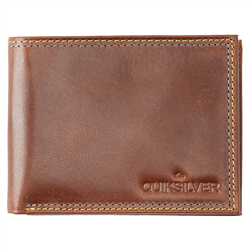 Quiksilver Mini Macbro Wallet - Chocolate Brown