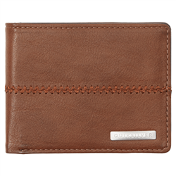 Quiksilver Stitchy 3 Wallet - Chocolate Brown