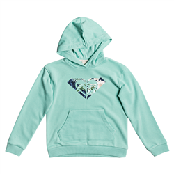 Roxy Indian Poem Logo Hoody - Brook Green