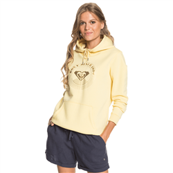 Roxy Day Breaks Brush Hoody - Pale Banana