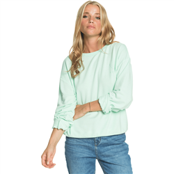 Roxy Surfing By Moonlight C Sweatshirt - Brook Green
