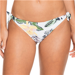 Roxy Bloom Mini Bikini Bottoms - Bright White Praslin