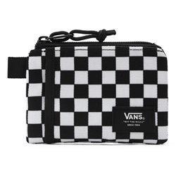 Vans Pouch Wallet - Black & White Check