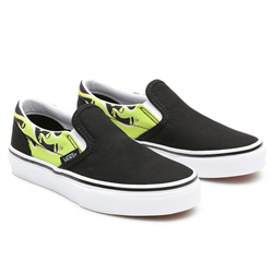 Vans Slime Frame Classic Slip-On Shoes - Black