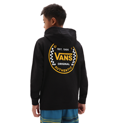 Vans Authentic Checker Hoody - Black