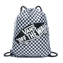 Vans Benched Gymbag - Black & White Check