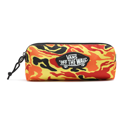 Vans Off The Wall Pencil Case - Flame Camo