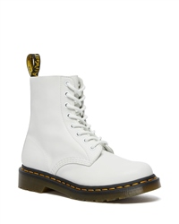 Dr Martens 1460 Pascal Virginia Boots - Optical White