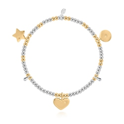 Joma Jewellery Best Friend Bracelet - Gold