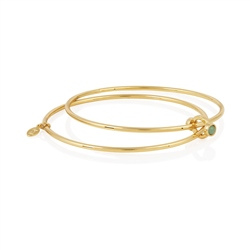 Joma Jewellery Capri Bangle - Adventurine