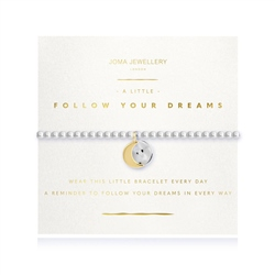 Joma Jewellery Follow Your Dreams Bracelet - Gold