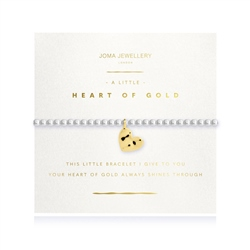 Joma Jewellery Heart Of Gold Bracelet - Gold