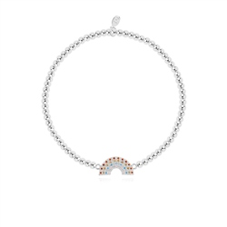 Joma Jewellery Little Be Kind Bracelet - Silver