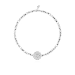 Joma Jewellery Little Cat Mum Bracelet - Silver