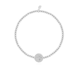 Joma Jewellery Little Dog Mum Bracelet - Silver