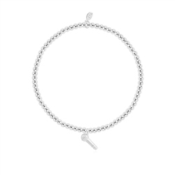 Joma Jewellery Love Music Bracelet - Silver