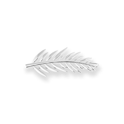 Joma Jewellery Palm Hair Clip - Silver