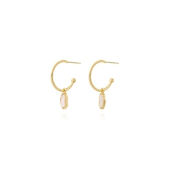 Joma Jewellery Pearls Of Wisdom Earrings - Gold