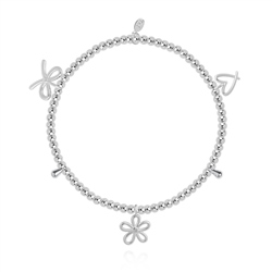 Joma Jewellery Thank You Bracelet - Silver