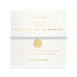 Joma Jewellery You Are My Sunshine Bracelet - Gold