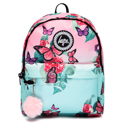 Hype Butterfly Fade Backpack - Pink