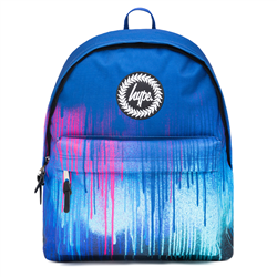 Hype Neon Drips Backpack - Multi